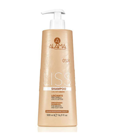 Shampoing pour cheveux liss